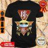 Funny Baby Yoda Mask BJ's Restaurants Shirt