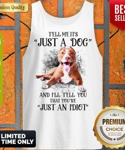 Awesome Pitbull Not Just A Dog Tank Top