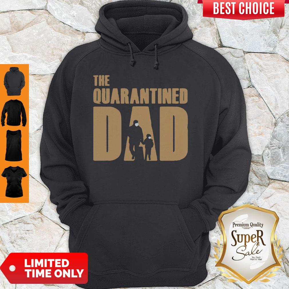 Top Dad And Son Mask The Quarantined Dad Hoodie
