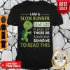 Top Turtle I Am A Slow Cyclist Dear God Please Let There Be Someone Behind Shirt
