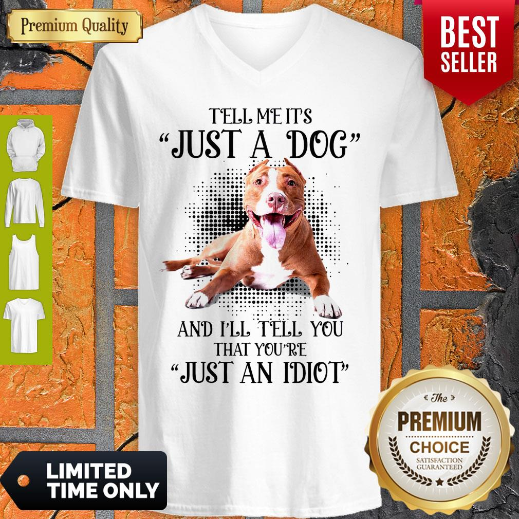 Awesome Pitbull Not Just A Dog V-neck