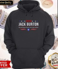 2020 Jack Burton Way The Wings Of Liberty Never Lose A Feather Hoodie