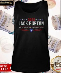 2020 Jack Burton Way The Wings Of Liberty Never Lose A Feather Tank Top