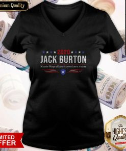 2020 Jack Burton Way The Wings Of Liberty Never Lose A Feather V-neck