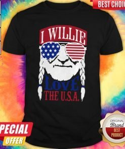 Awesome I Willie Love The USA Shirt