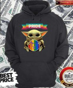 Baby Yoda Hug Sex Logo Pride Hoodie