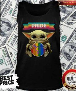 Baby Yoda Hug Sex Logo Pride Tank Top