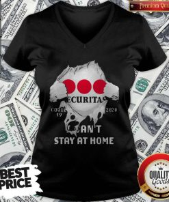 Blood Inside Me Securitas AB Covid 19 2020 I Can't Stay At Home V-neck