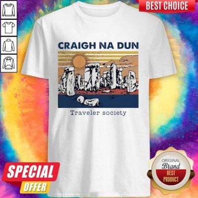 Craigh Na Dun Traveler Society Vintage Shirt