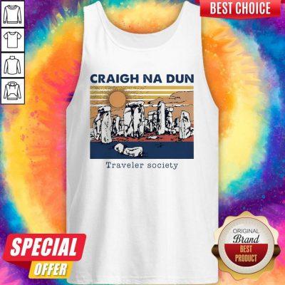 Craigh Na Dun Traveler Society Vintage Tank Top