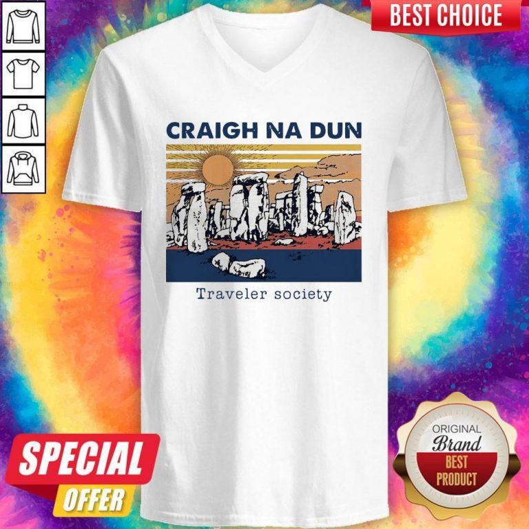 Craigh Na Dun Traveler Society Vintage V-neck