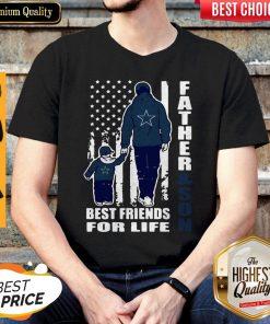 Dallas Cowboy Fatherand Son Best Friend For Life Flag American Shirt