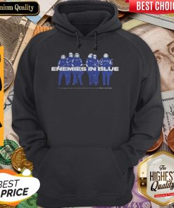 Enemies In Blue Relief In Collaboration With Knocked Loose Hoodie