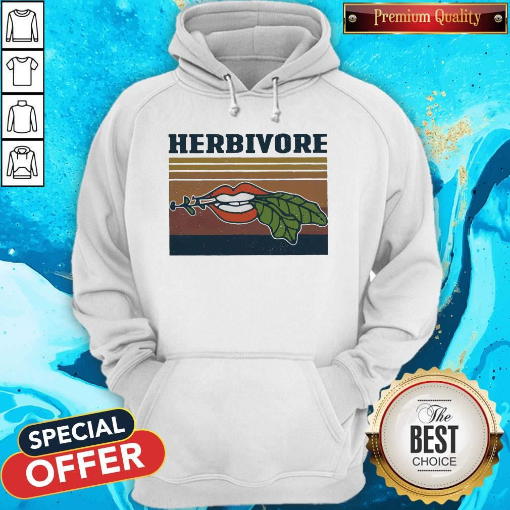 Factory Hardcore Herbivore Vintage Hoodie
