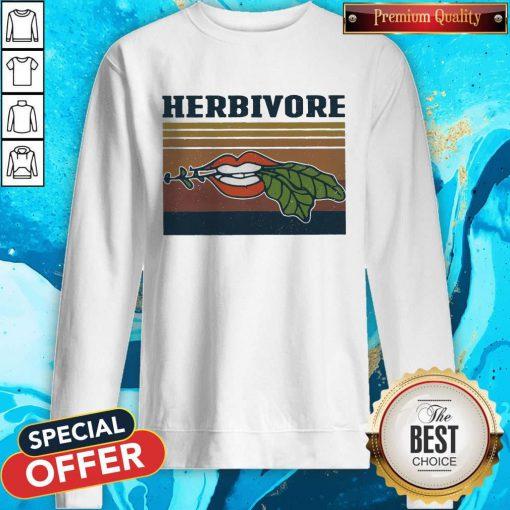 Factory Hardcore Herbivore Vintage Sweatshirt