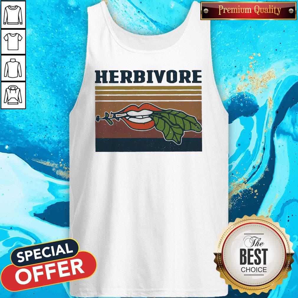 Factory Hardcore Herbivore Vintage Tank Top