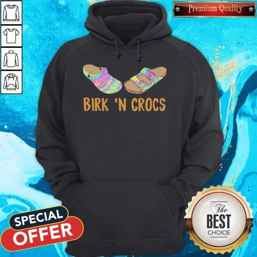 Funny Birkin 'n Crocs Hoodie