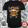 Good LGBT Love Baby Yoda Shirt
