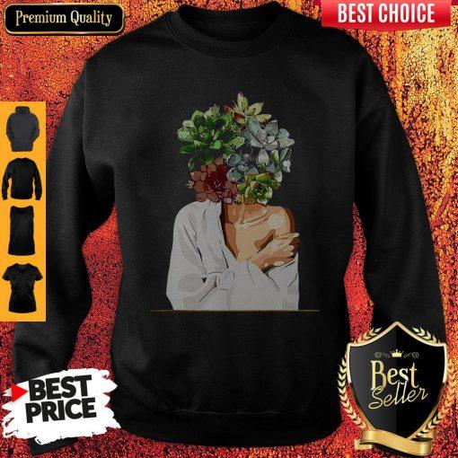 Good Stone Lotus Head Sweatshirt
