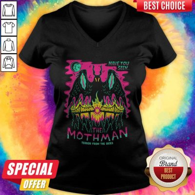 Have You Seen The Mothman Terror From The Skies V-neck