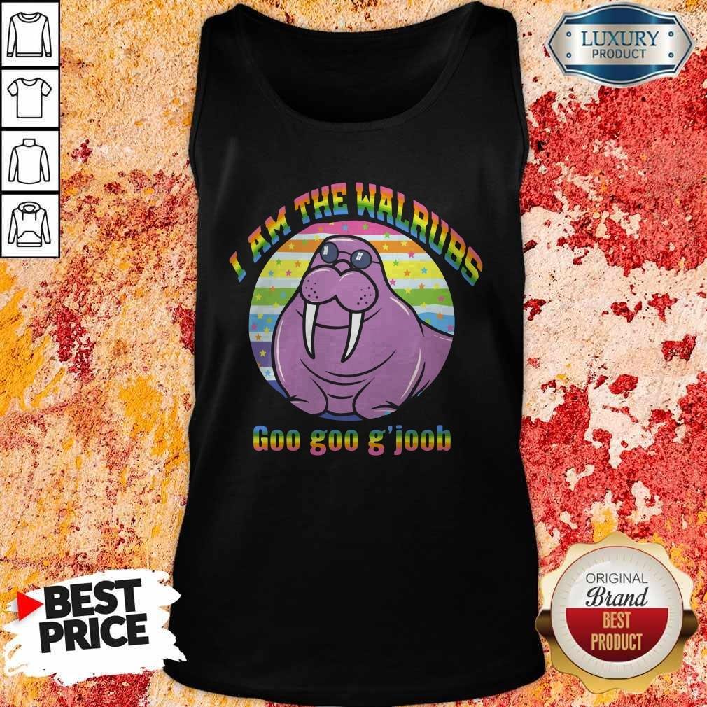 I Am The Walrus Goo Goo G'joob Lgbt Tank Top