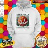 Life Os Full Of Important Choices Moon Vintage Hoodie