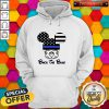 Mickey Mouse American Flag Back The Blue Hoodie