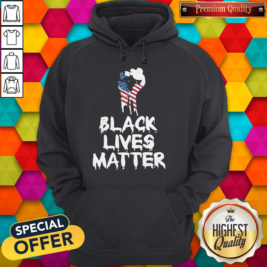 Ndependence Day Black Lives Matter Hoodie