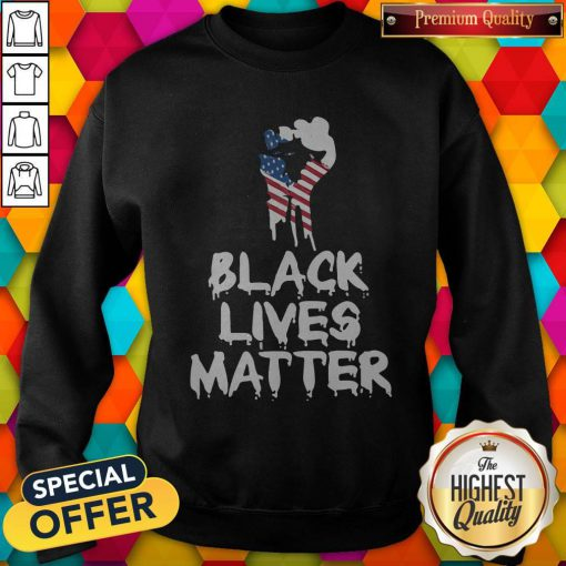 Ndependence Day Black Lives Matter Sweatshirt