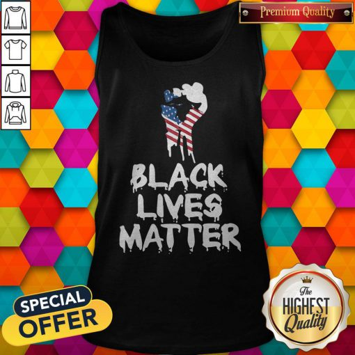 Ndependence Day Black Lives Matter Tank Top