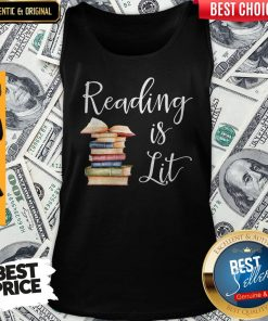 Nice Reading Is Lit Book Tank Top