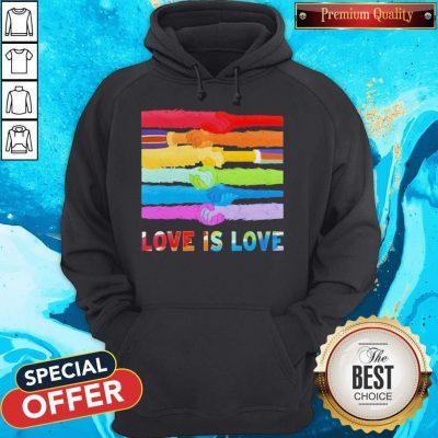 Official LGBT Love Is Love Hoodie