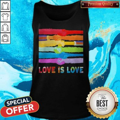 Official LGBT Love Is Love Tank Top