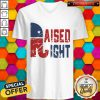 Official Raised Right V-neck