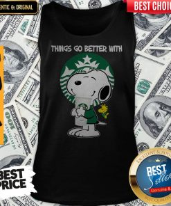 Snoopy Hug Sunkist Things Go Better With Sunkist Tank Top