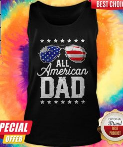 Top All American Dad Tank Top