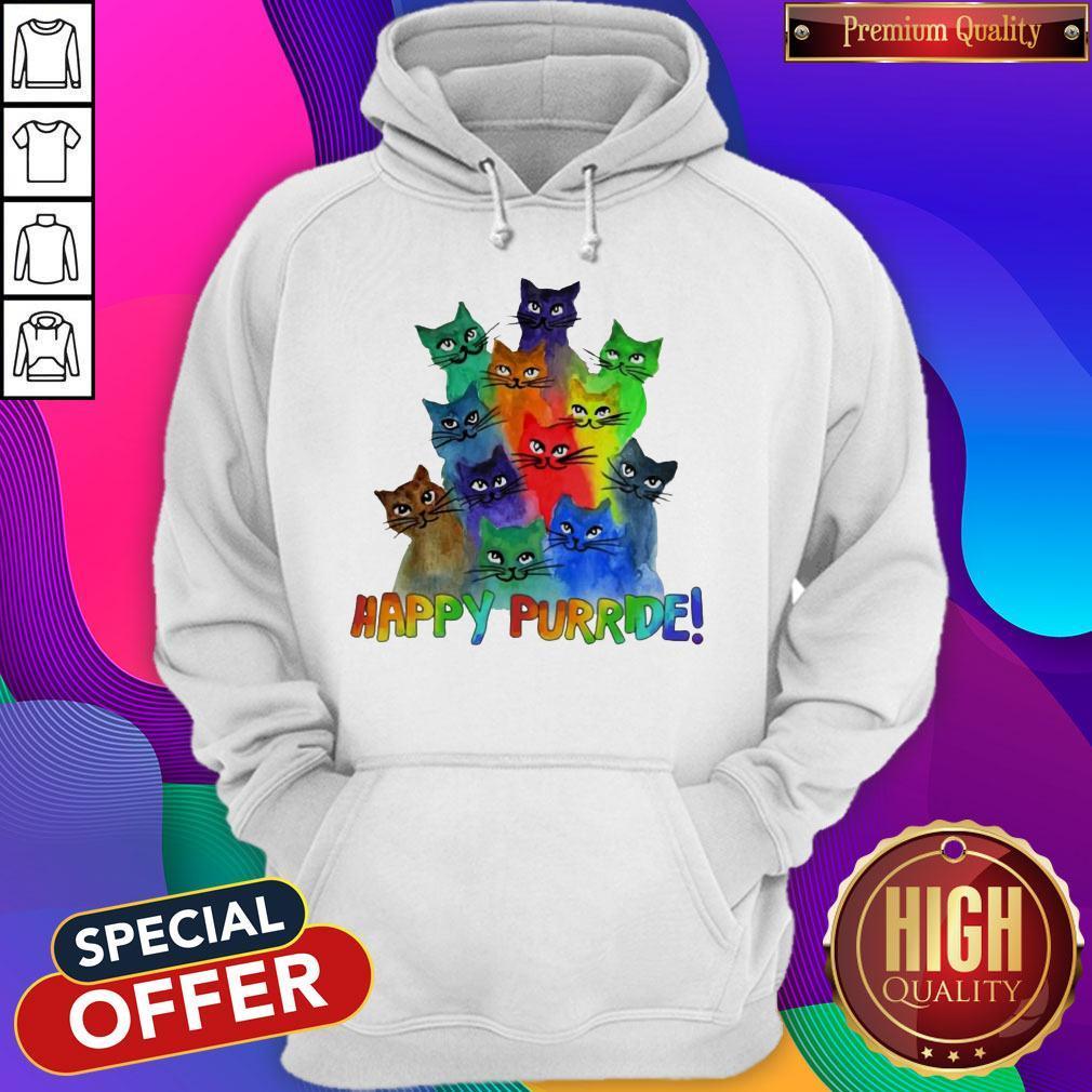 Top Cats Happy Purride Hoodie