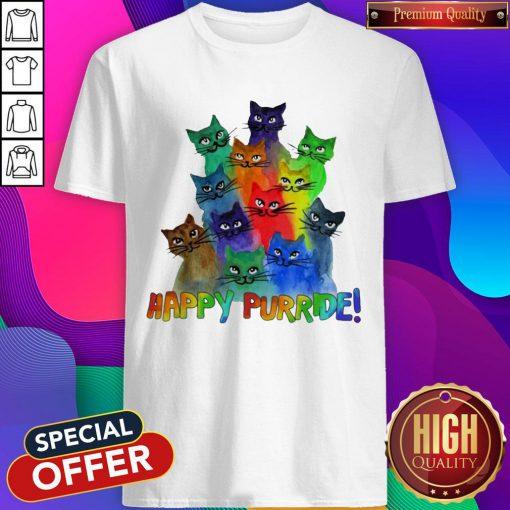 Top Cats Happy Purride Shirt