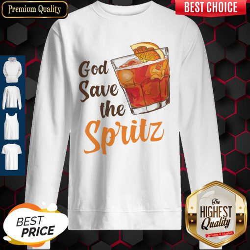 Top Cocktail God Save The Spritz Sweatshirt