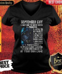 Top September Guy V-neck
