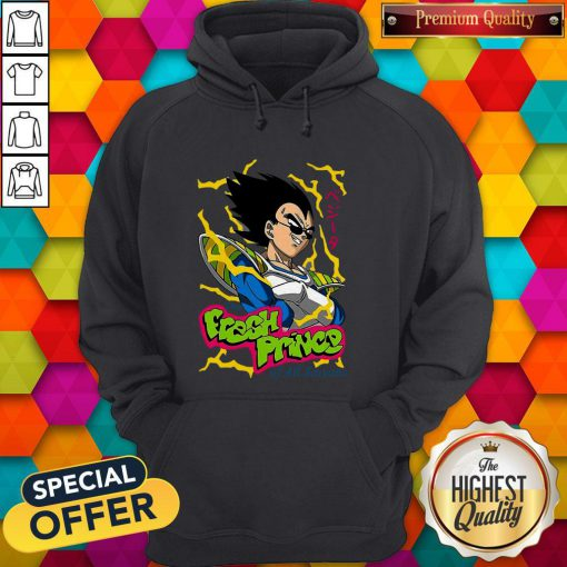 Vegeta The Fresh Prince Of All Saiyans Hoodie