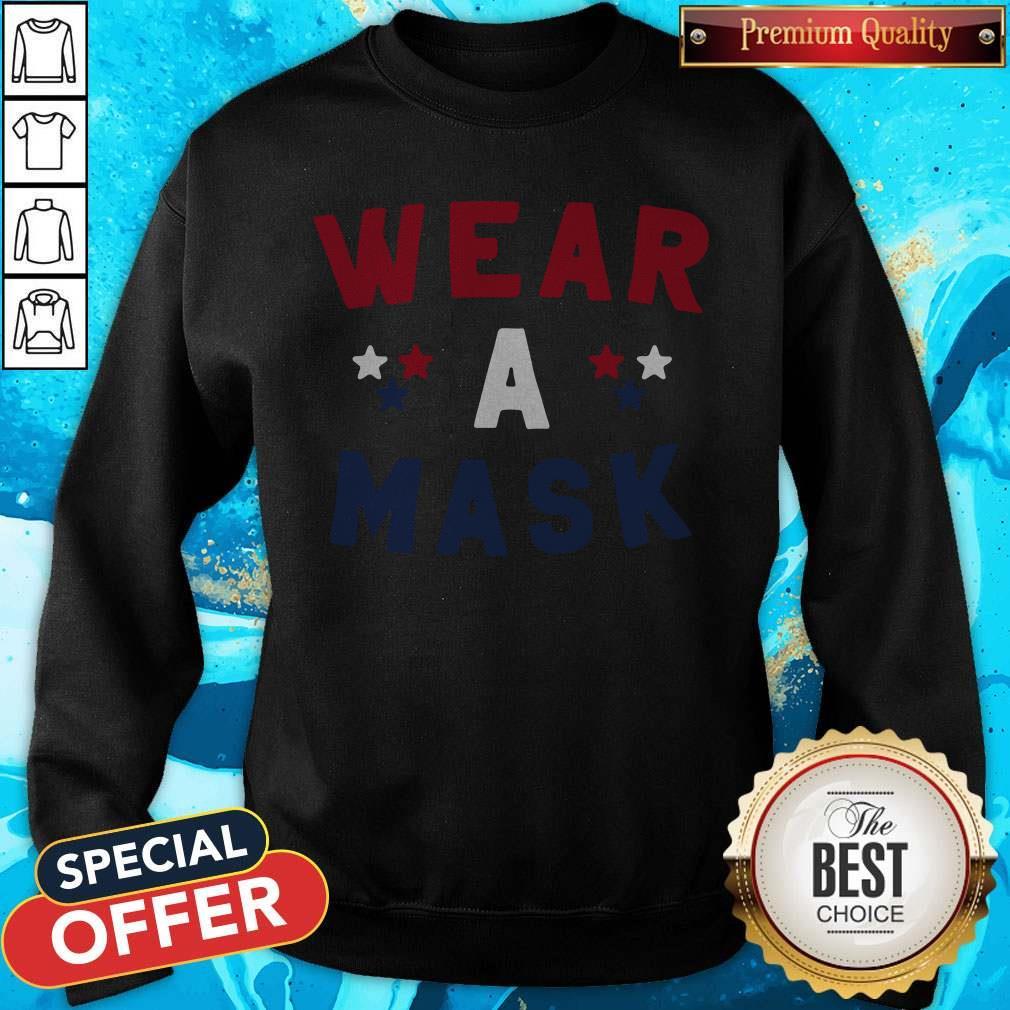 Wear A Mask 4th Of July Sweatshirt