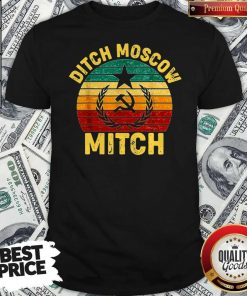 Awesome Vintage Ditch Moscow Mitch Communist Party Of Great Britain Shirt