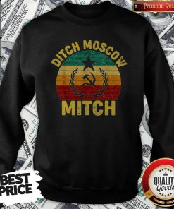 Awesome Vintage Ditch Moscow Mitch Communist Party Of Great Britain Sweatshirt