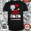 Cleveland Indians Baseball 2020 The Year When The Shit Got Real Quarantined Toilet Paper Mask Covid 19 T-Shirt