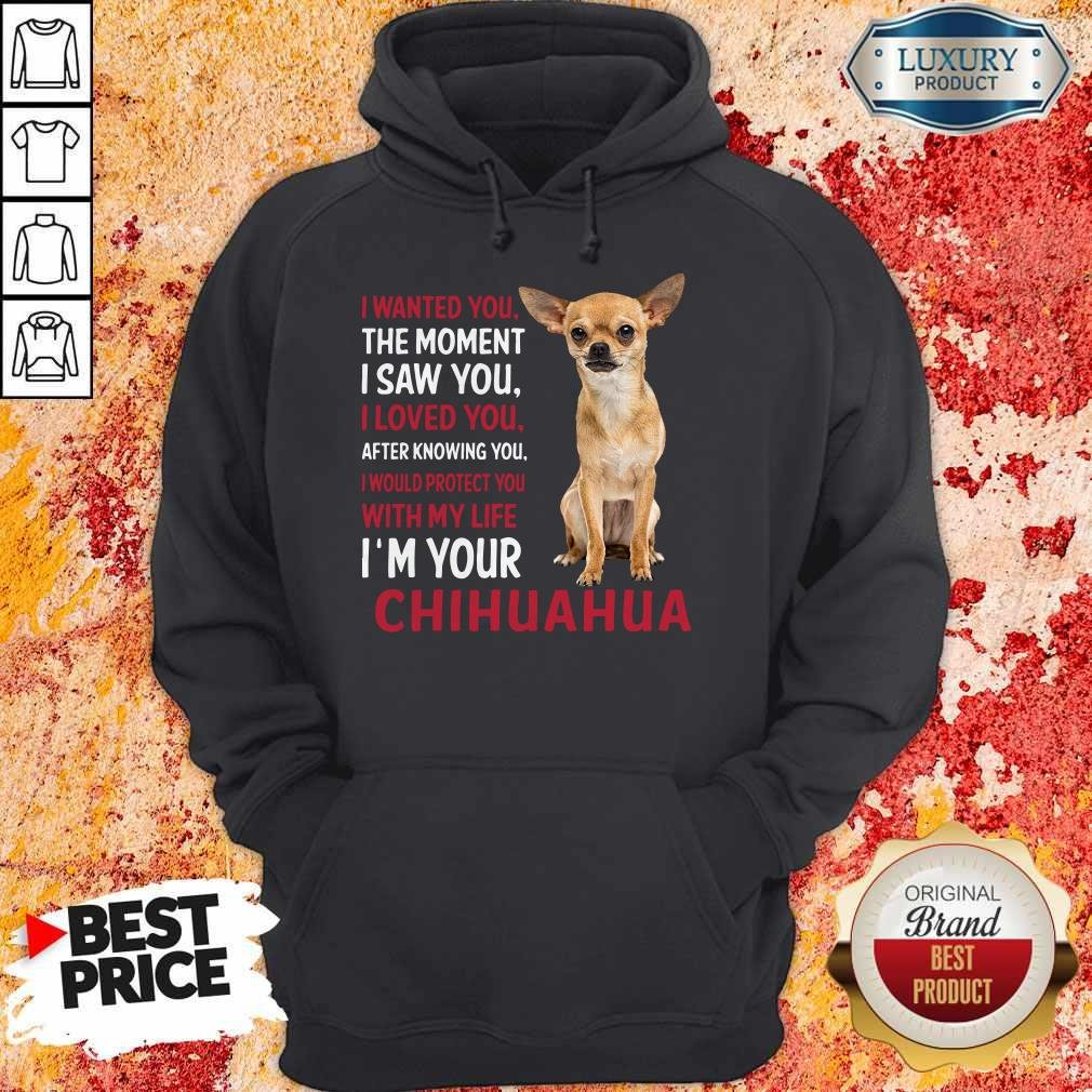 I Wanted You The Moment I'm Your Chihuahua Hoodie