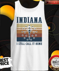 Indiana I Still Call It Home Vintage Retro Tank-Top