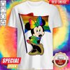 LGBT Minnie Mouse The Pride Flag Shirt