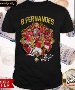 Manchester United B. Fernandes Signature Shirt
