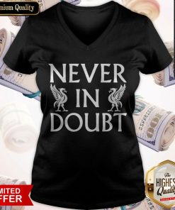 Never In Doubt Champions 2020 Liverpool Fc V-neck